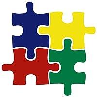 "Autism Awareness / 4つ色デカール/バイクオートバイカーウィンドウビニールデカールステッカー( aw-02) 8"" x 8"""