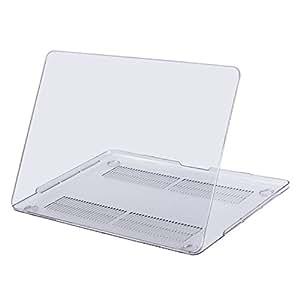 Mosiso New 15 インチ MacBook Pro 専用 2019 2018 2017 2016年 プラスチック ハードケース シェルカバー 超薄型 最軽量(対応モデル:[A1990/A1707] Touch Bar & Touch ID付き)(クリア)