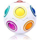 origin マジックレインボーボール パズル 知育玩具 教育 おもちゃ 脳トレ 頭の体操 子どもから大人まで 暇つぶし 気分転換 マジックボール 穴12個 丸型パズル 知育ボール BMC70MM