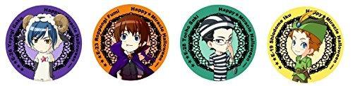 「ミラクル☆トレイン」ハッピー☆ミラクルハロウィン ビッグ缶バッジセット<ひつじさんチーム>