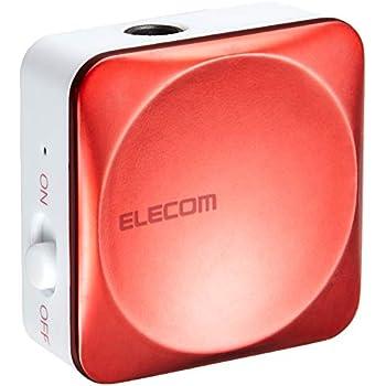 エレコム Bluetooth ブルートゥース レシーバー 音楽専用 iPhone android対応 1年間保証 ピンク LBT-C/PAR01AVPN