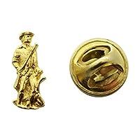 Minutemanミニピン~ 24Kゴールド~ミニチュアラペルピン~サラのTreats & Treasures