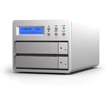 SOHORAID SR2(SR2-SB3-6G)6Gコントローラ搭載 USB3.0/eSATA 2ベイ