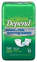 Depend Guards for Men - - Pack of 14 by Depend
