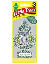 Little Trees 吊下げタイプ エアーフレッシュナー eucalyptus(ユーカリ) 3枚セット(3P) U3S-37365