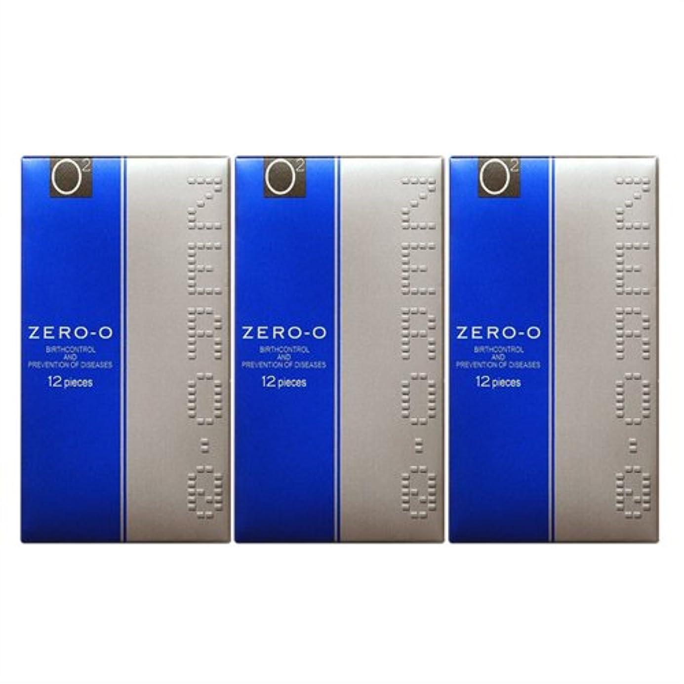 ブローホールカップルオークランドコンドーム ZERO-0 リンクルゼロゼロ1500 12個入り ×3個セット