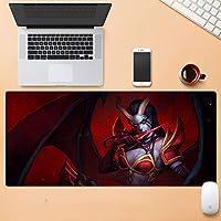 多機能拡張キーボードマウスマット特大肥厚e-スポーツゲームプロのマウスパッド滑り止め耐摩耗性80×30センチ6スタイル QTKGG (Color : C, Size : 5mm)