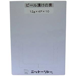 ニットーリレー ビール漬けの素 12g×4袋×10個
