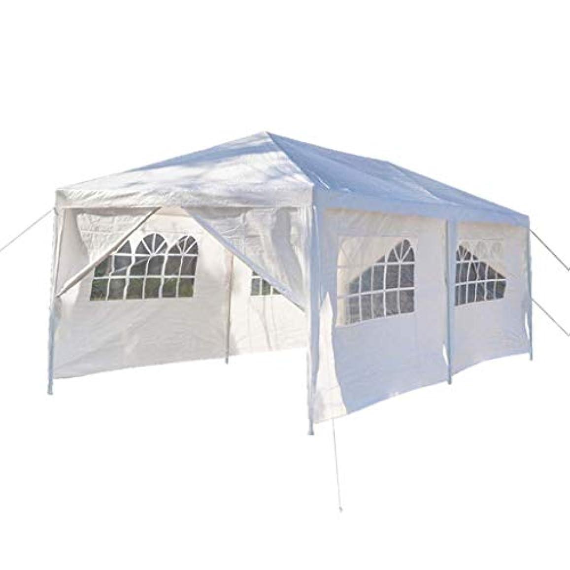 削除する感度レジテント 二重ドアのテントの白いテントのテントの結婚式のテントの実用的な耐久の屋外の重いパビリオンの活動のテント3 x 6m