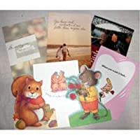 Assorted Loveグリーティングカード( 48ピース)