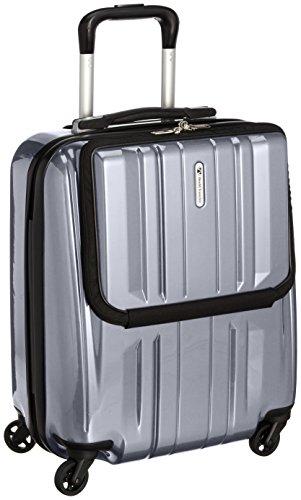 [ワールドトラベラー] World Traveler スーツケース【Amazon.co.jp限定】32L 3.2kg エース製 機内持込可 05661 09 (シルバー)