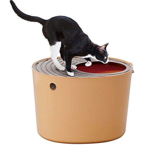 アイリスオーヤマ『上から猫トイレ』