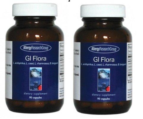 GIフローラ 腸内細菌 乳酸菌 プロバイオティクス サプリメント 90粒45~10日分x2本入【海外直送品】