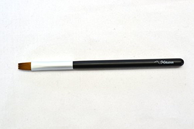 うまくいけば印刷する核熊野筆 北斗園 Kシリーズ リップブラシ(黒銀)