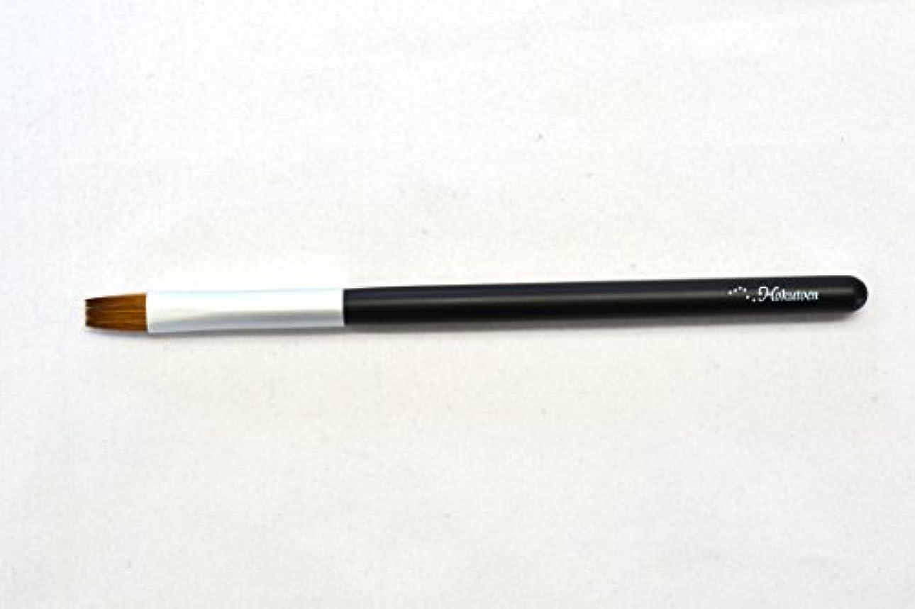 効果的ビタミンコマンド熊野筆 北斗園 Kシリーズ リップブラシ(黒銀)