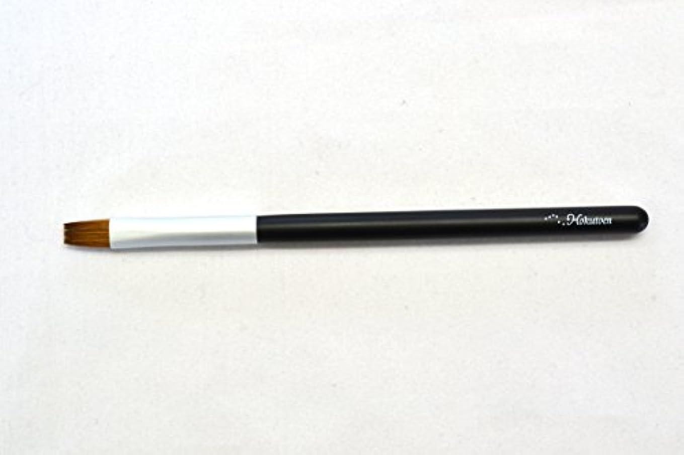 販売計画布扱いやすい熊野筆 北斗園 Kシリーズ リップブラシ(黒銀)
