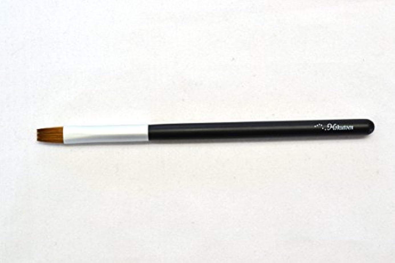 装備する熱帯のペン熊野筆 北斗園 Kシリーズ リップブラシ(黒銀)