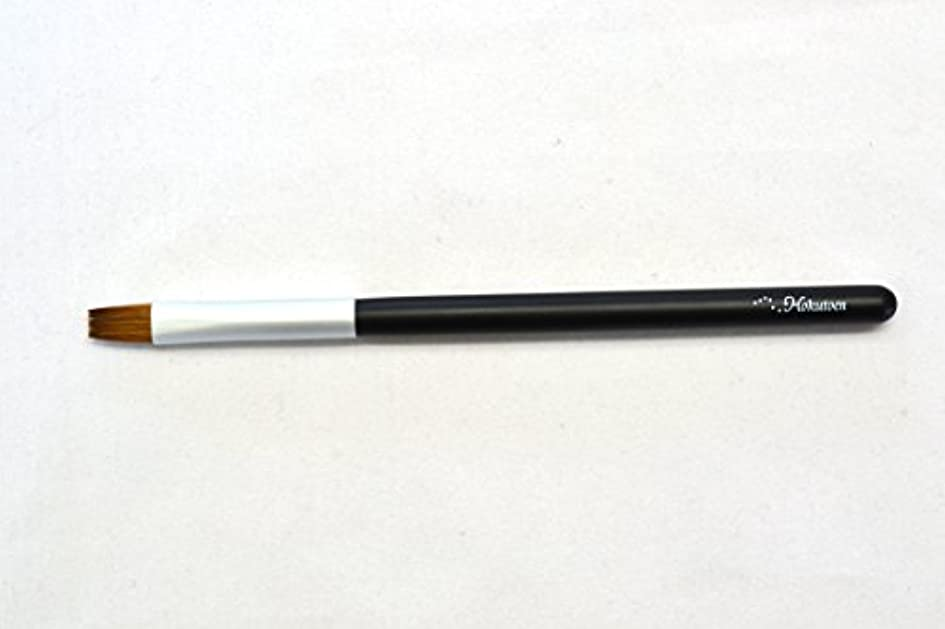 スラム街予見する冬熊野筆 北斗園 Kシリーズ リップブラシ(黒銀)