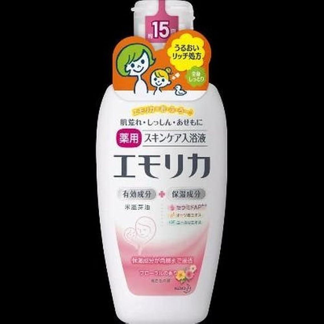 ノイズ不名誉な測定【まとめ買い】エモリカフローラルの香り 本体 450ml ×2セット