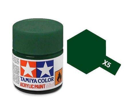 タミヤカラー アクリルミニ X-5 グリーン 光沢
