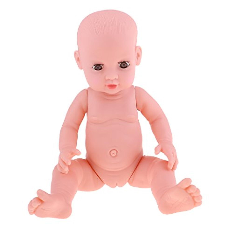 Baoblaze 抱き人形 ヌード 服付き 41cm 赤ちゃん人形 抱きドール ビニル製 新生児幼児 保育園おもちゃ 全8色 - #8
