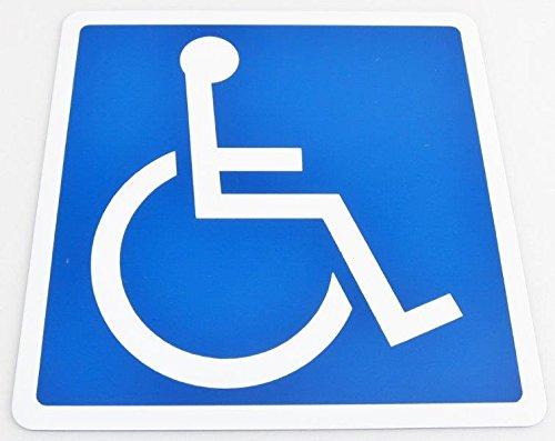 車椅子 国際シンボルマーク 1枚入り マグネットタイプ 車椅...