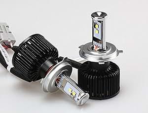 SMART(スマート) JKラングラー専用キャンセラー内蔵 LEDヘッドライト H4HL 5000k LHS06