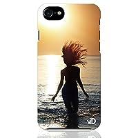 iPhone8 iPhone7 ハード ケース カバー サーフガール TYPE 04 ブレインズ 美しい 美人 海 写真 フォト 人気 サーフィン サーフ 波乗り サマー 夏 西海岸 ハワイ ポップ