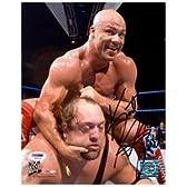 カート・アングルWWFレスリングは8x10の写真を締結直筆サイン入りレスリング写真。【並行輸入】