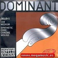 CUERDA VIOLONCELLO - Thomastik (Dominant 144) (Metal/Cromo) 3ェ Medium Cello 4/4 (G) Sol (Una Unidad)