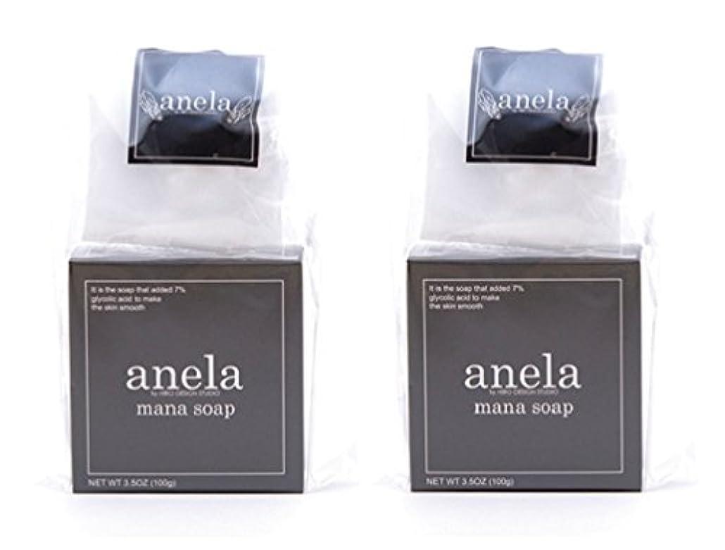 バランス熟した切るアネラ マナソープ 100g×2個セット