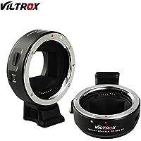 VILTROX EF-NEXIV レンズマウントアダプター AF オートフォーカス 自動絞り PDAFとCDAFサポート キャノEF/EF-Sレンズ ソニー A7用 NEX Eマウント A6300 A6000 A5100 A5000 A3000 NEX 7/6/5N/5R/3/A7 II A7R A7RII A7SIIフルフレームカメラ用