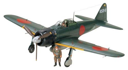 タミヤ 1/32 エアークラフトシリーズ No.18 日本海軍 三菱 零式艦上戦闘機 52型 プラモデル 60318 -