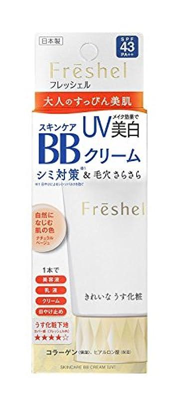どこにもドナーごめんなさいフレッシェル BBクリーム スキンケアBBクリーム UV ナチュラルベージュ