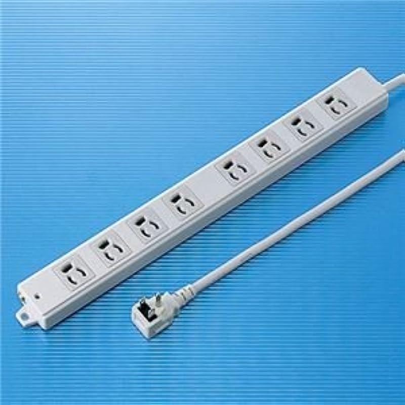 パンチあたり息切れサンワサプライ 工事物件タップ(8個口?1m) TAP-K8L-1