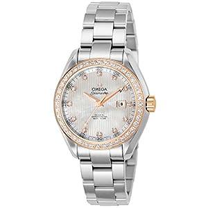 [オメガ]OMEGA 腕時計 シーマスター アクアテラ コーアクシャル自動巻 ダイヤ 231.25.34.20.55.003 レディース 【並行輸入品】