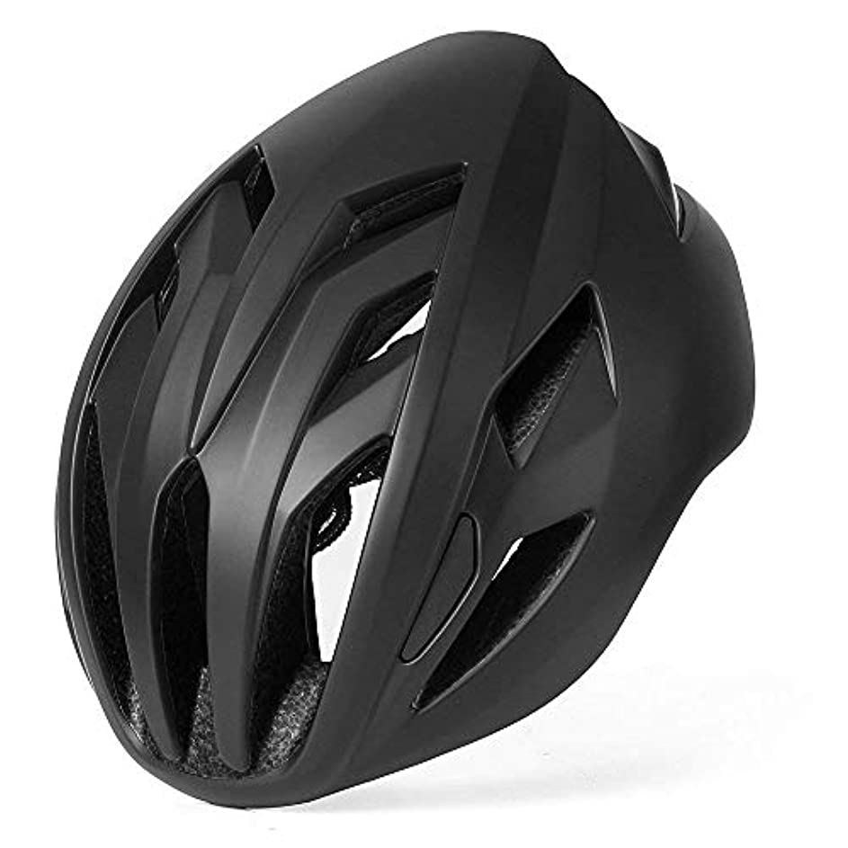 遊びます分注する恩赦BASE CAMP ACE II ロードバイク自転車ヘルメット 超軽量ヘルメット サイズ調整可能 14穴 大人用