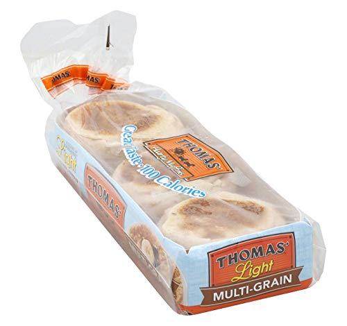 Thomas' Light Multi-Grain English Muffins トーマスライト マルチグレインイングリッシュマフィン [並行輸入品]