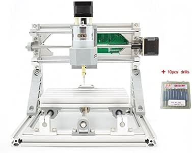 DIY 2-in-1 CNCルーターキット+ 5500mWレーザー CNC1610 ミニフライス盤 USBデスクトップ彫刻機、木材、木工用 マーキングマシン - DIY 2-in-1 CNC Router Kit CNC 1610 With ER11 + 5500mW Laser Engraver - Mini PCB Milling Machine, USB Desktop Engraving Marking Machine, For Wood, Woodworking