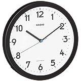 CASIO(カシオ) 掛け時計 電波 アナログ ウェーブセプター 常時点灯 置き掛け兼用 ブラック IQ-860NJ-1JF