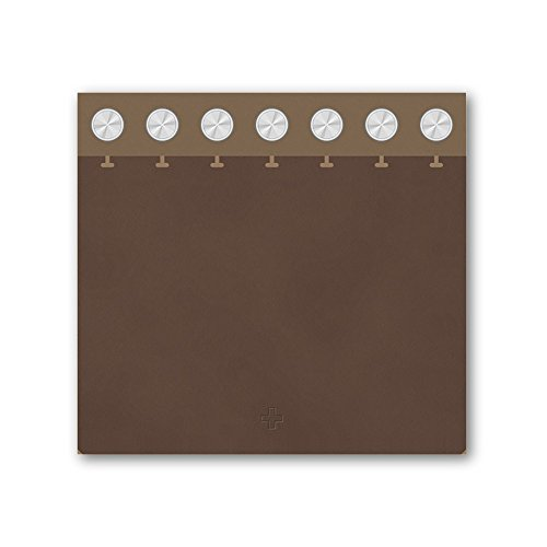 FLEXNOTE UPWARD NOTEBOOK - D7 カバーセット ブラウン