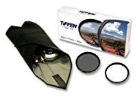 Tiffen 72mm Lens Kit includes Digital Ultra Clear Filter plus Circular Polarizer Filter and Accessory Wrap [並行輸入品]