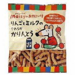 創健社 メイシーちゃん(TM)のおきにいり りんごとミルクのやわらかかりんとう 900g(入数:12) ×1セット   JAN:4901735022977
