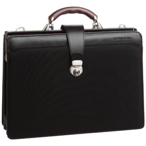 【木和田】両アオリダレスバッグ 鞄の聖地兵庫県豊岡市製 5907 01 (ブラック)