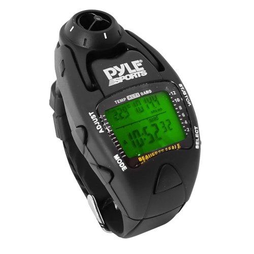 パイルスポーツ 風速計ヨットタイマー腕時計 [並行輸入品] (ブラック)
