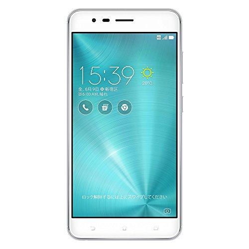 ASUS ZenFone Zoom S SIMフリースマートフォン (シルバー/5.5インチ)【日本正規代理店品】(Snapdragon 625/4GB/64GB/5000mAh) ZE553KL-SL64S4/A