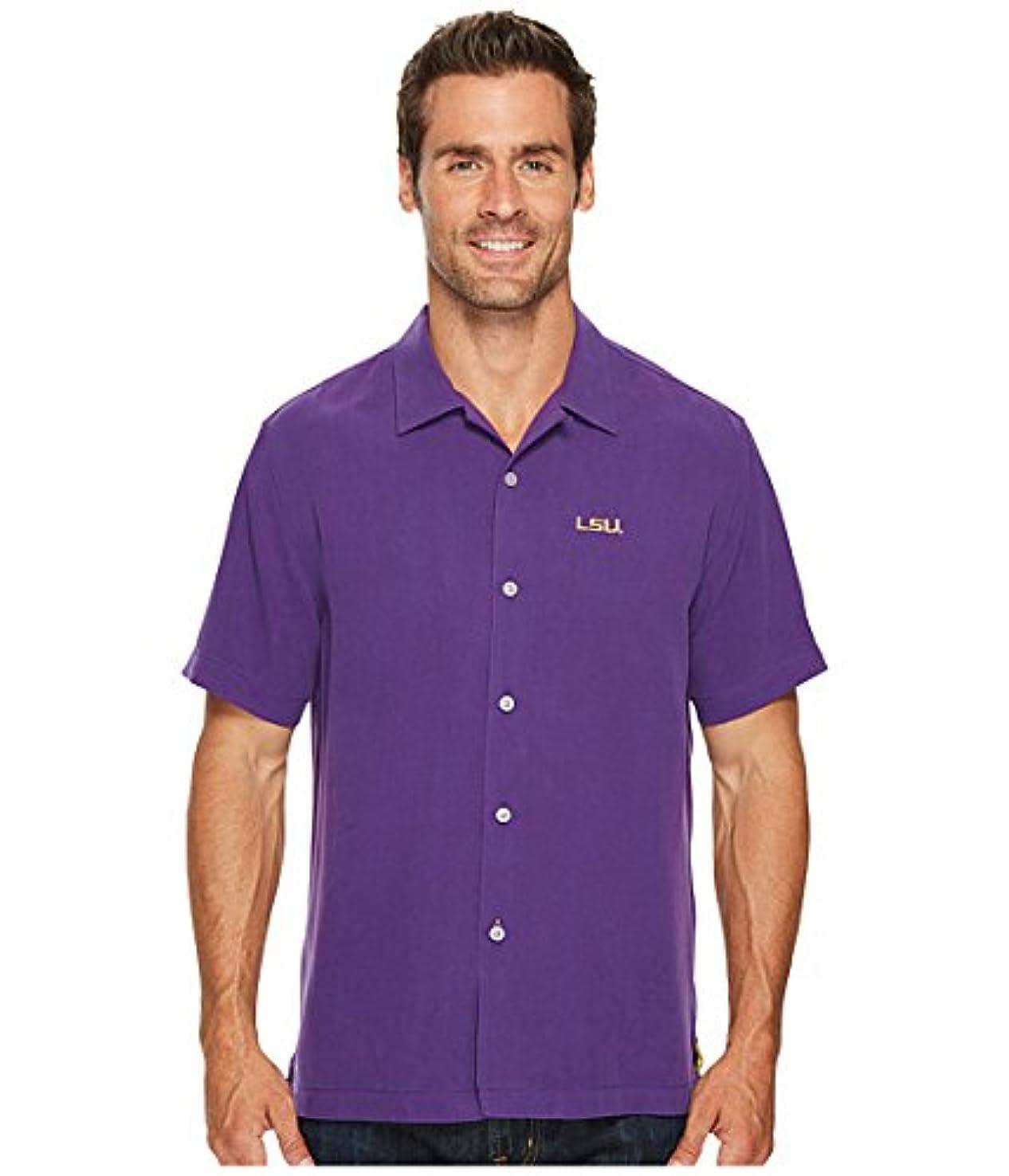 残高撤退オリエンテーション(トミーバハマ)Tommy Bahama メンズシャツ?ワイシャツ Collegiate Series Catalina Twill Louisiana State University 2XL XXL [並行輸入品]