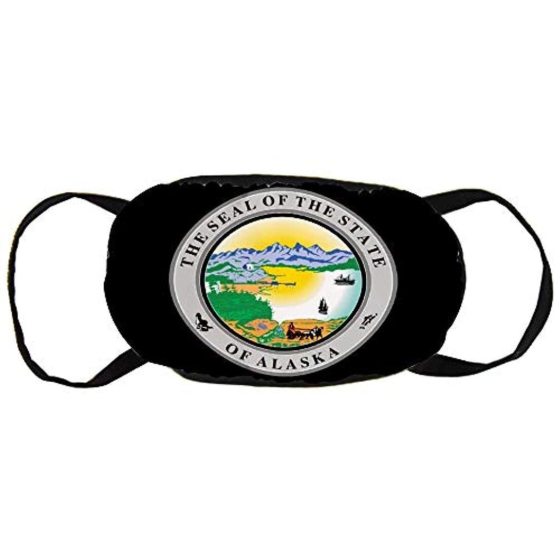 安息農場推進、動かすアラスカ州バッジ 男女兼用 マスク 綿 風邪 防塵 花粉症対策 快適マスク 予防 繰り返し使用可能 通気性 通勤 通学 秋冬