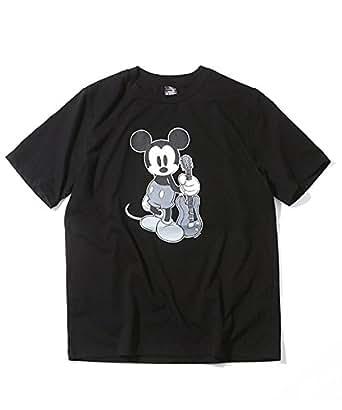 [N] Tシャツ NWD019 メンズ BLACKxN(N) 日本 2-(日本サイズS相当)