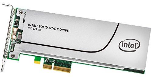 インテル SSD 750シリーズ 1.2TB 1/2 Height PCI-Express 3.0対応拡張カード型SSD MLC SSDPEDMW012T4X1